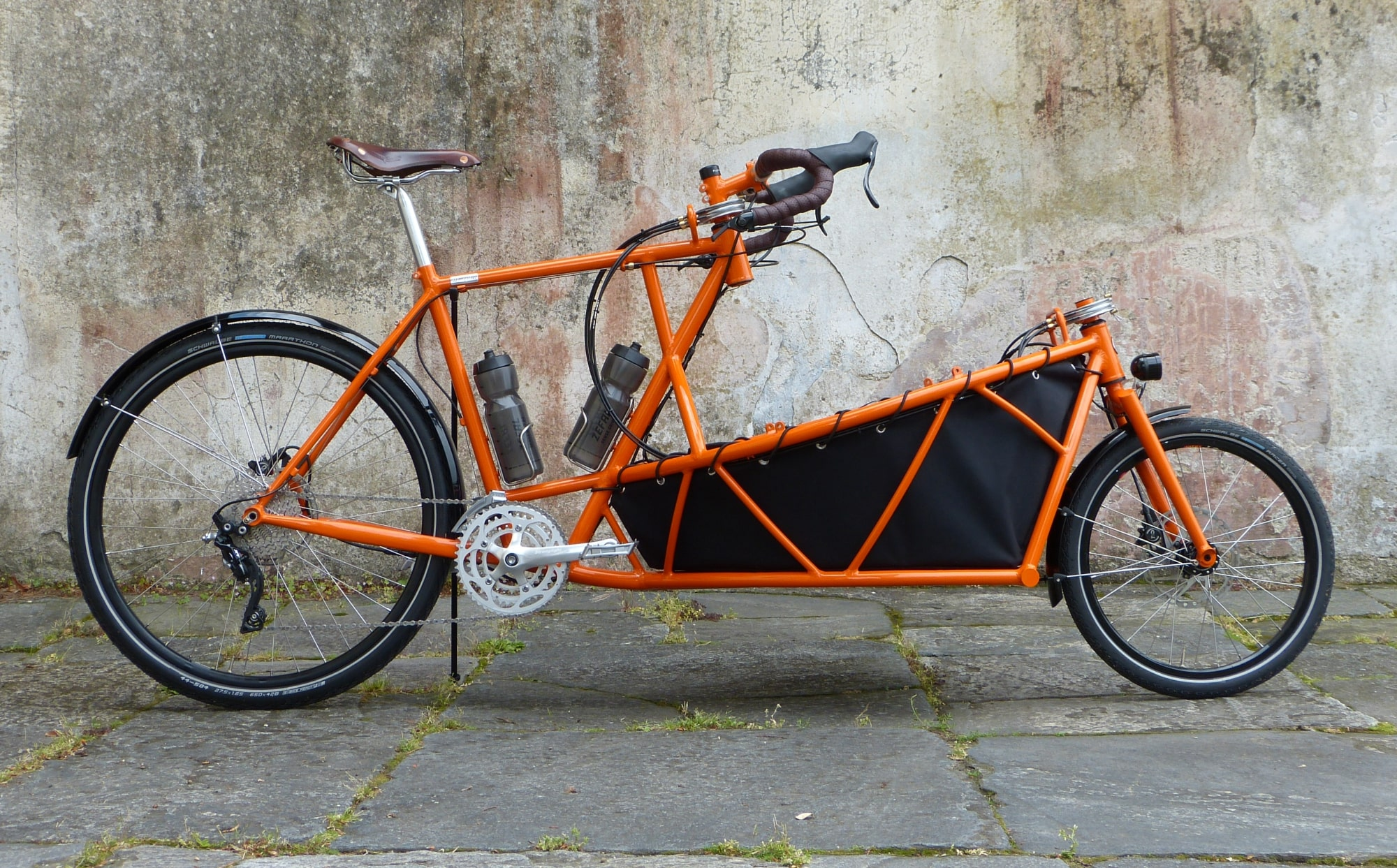 cargo bike without roof