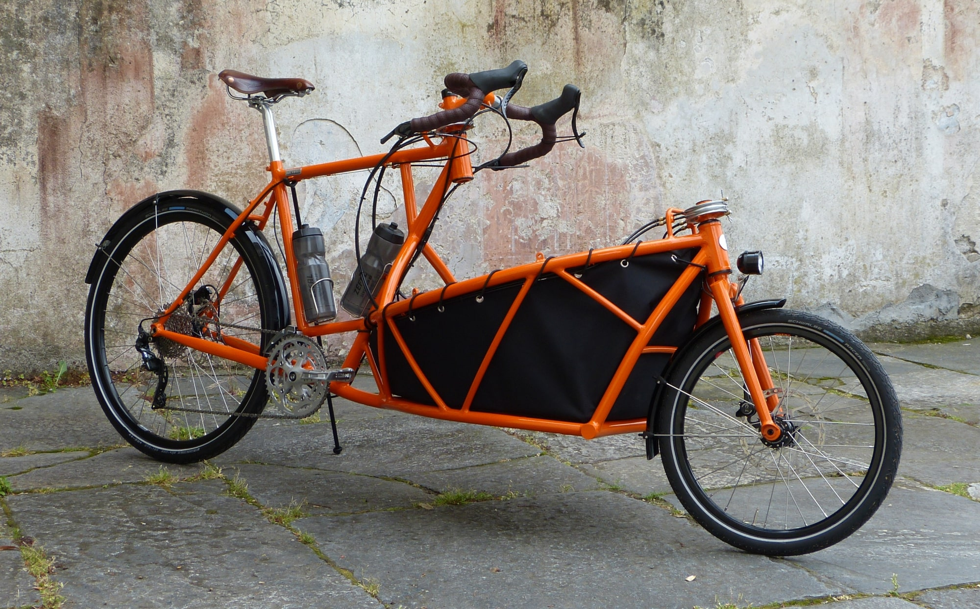 cargo bike with roof